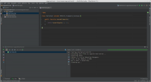 Successfully ran unit test on PHPStorm